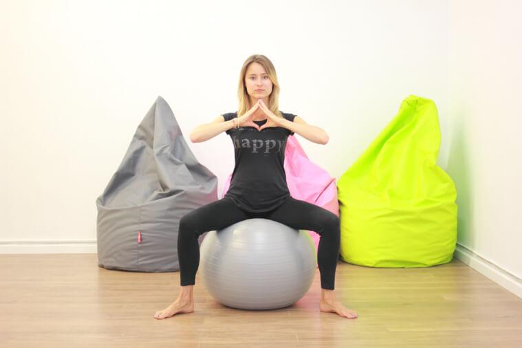 Pilates z brzuchem zdjecie